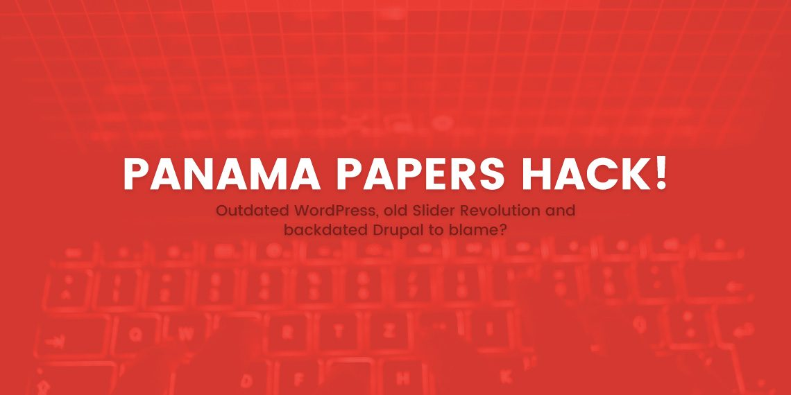Panama Papers hack: Outdated WordPress, old Slider Revolution and
