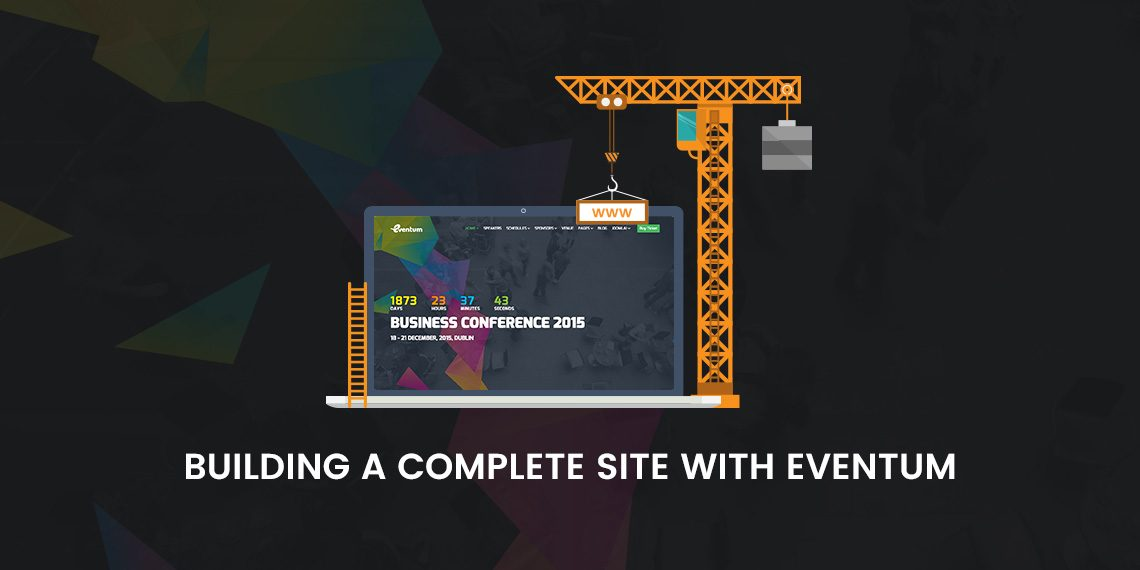 How to build an event or conference site with Eventum - Themeum