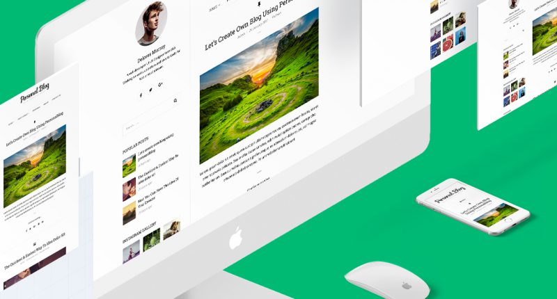 Introducing Personal Blog, the best free WordPress blog theme for ...