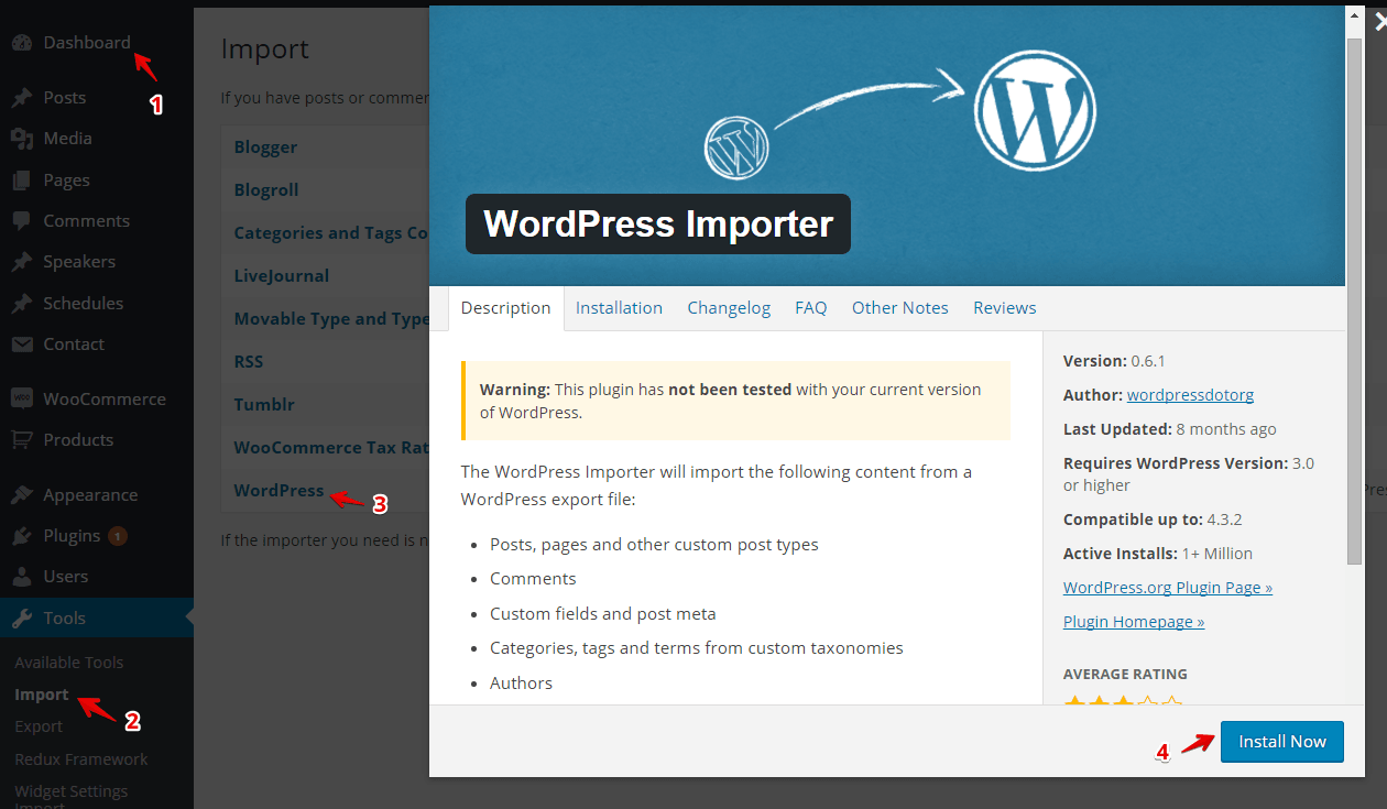 How to import demo data of a Themeum WordPress theme? - Themeum