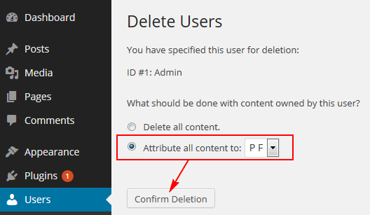 wp-delete-user