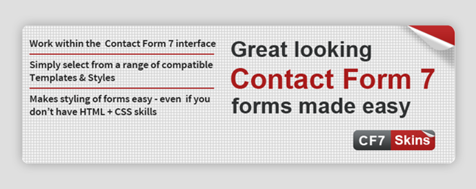 Contact Form 7 extensions