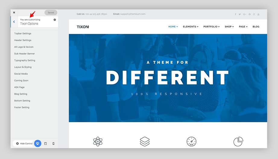 Introducing Tixon: Multipurpose WordPress theme for business and