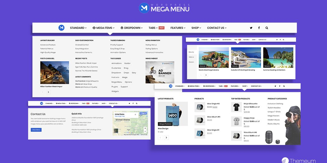 The best WordPress mega menu plugin - Themeum