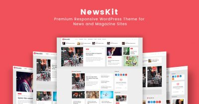 WordPress news and magazine theme