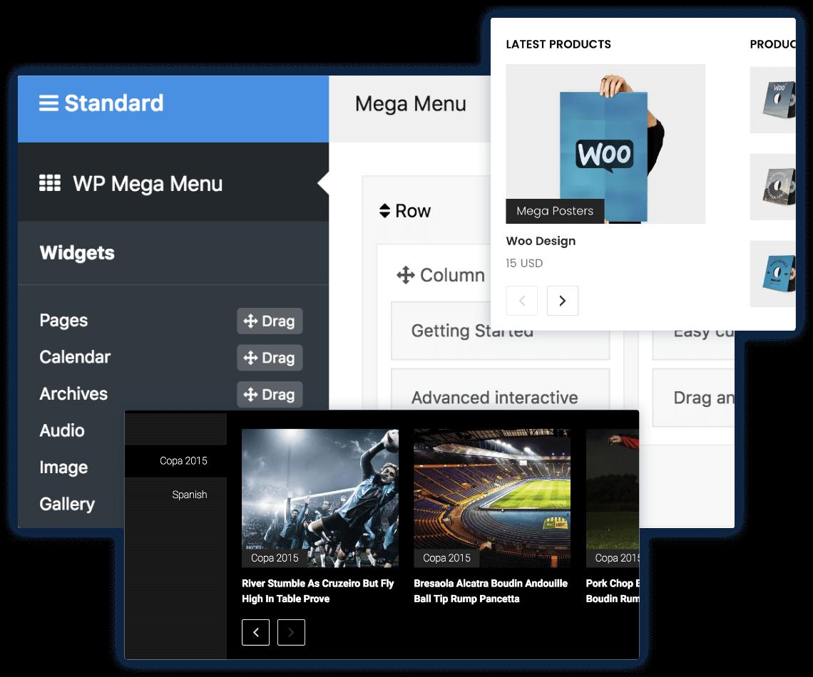 WP Mega Menu - Stylish & Responsive Mega Menu Builder for WordPress