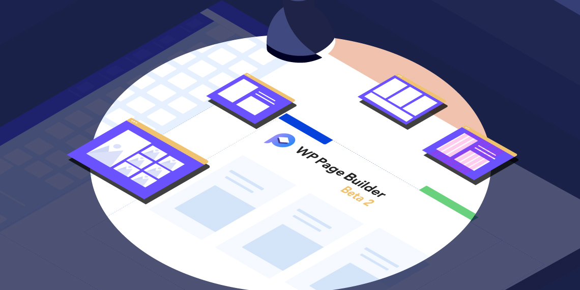 WP Page Builder beta 2