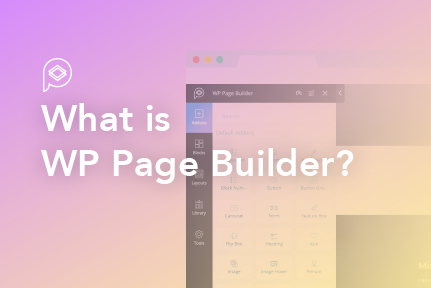 1. What is WP Page Builder?