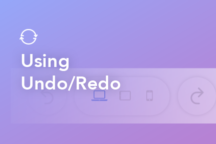 10. Using Undo/Redo Options