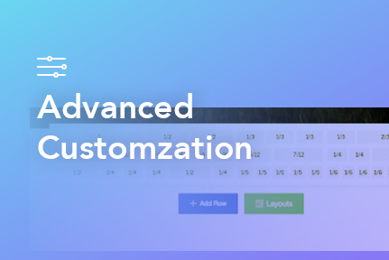7. Advanced Customzation