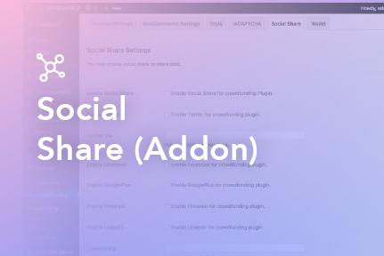 Social Share (addon)