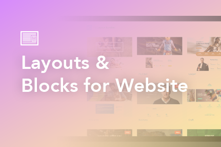 8. Layouts & Blocks for a Complete Website