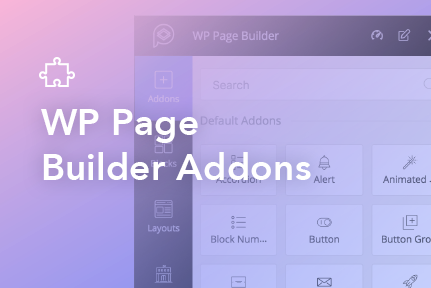 9. WP Page Builder Addons