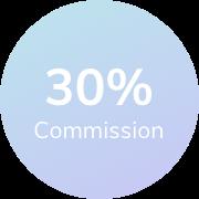 30% Sales Commission