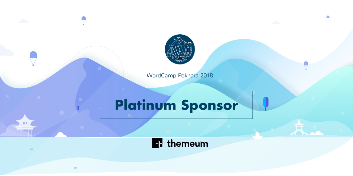 Themeum Is A Platinum Sponsor Of Wordcamp Pokhara 2018 Themeum