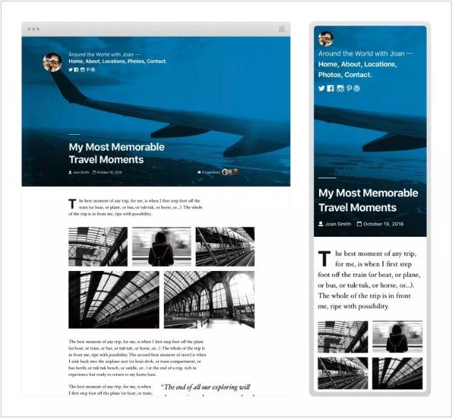 New Twenty Nineteen Theme in WordPress 5.0