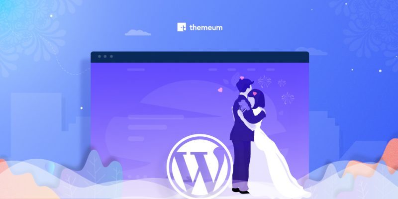 WordPress wedding website tutorial