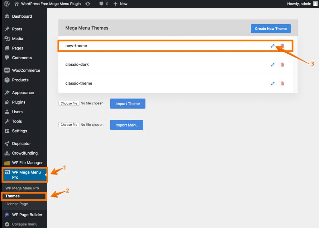 How to add WordPress menu animation