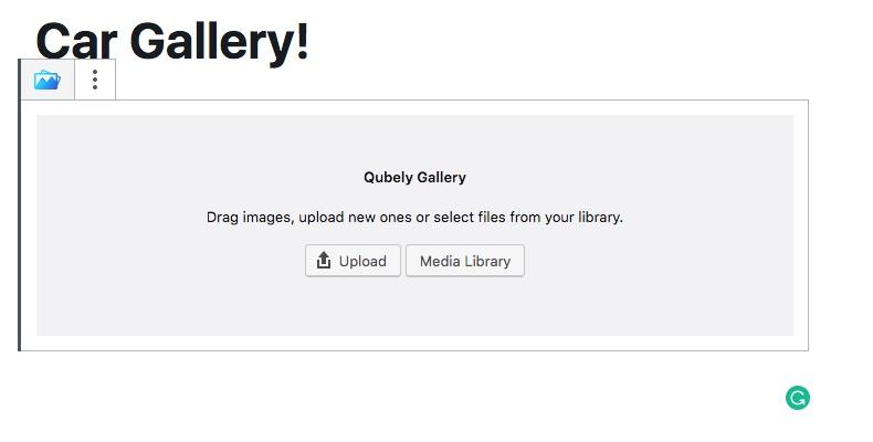 Gallery Gutenberg
