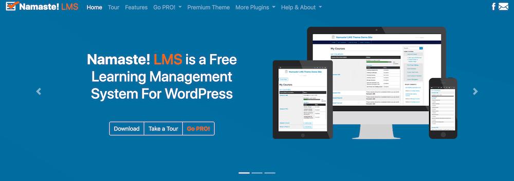 Namaste!LMS WordPress Plugin