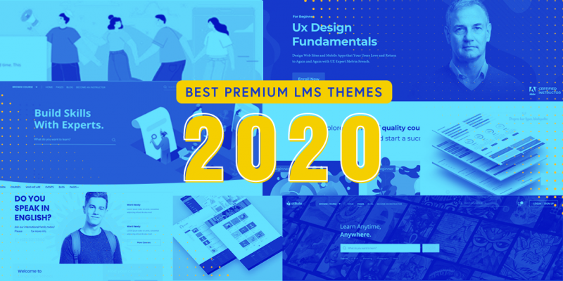 Best Premium LMS Themes 2020