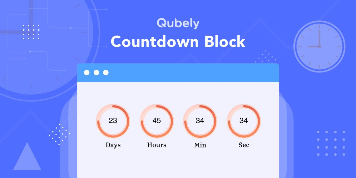 Countdown Timer Block Arrives in Qubely Pro