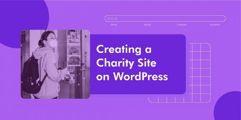 create charity site with WordPress and Themeum theme