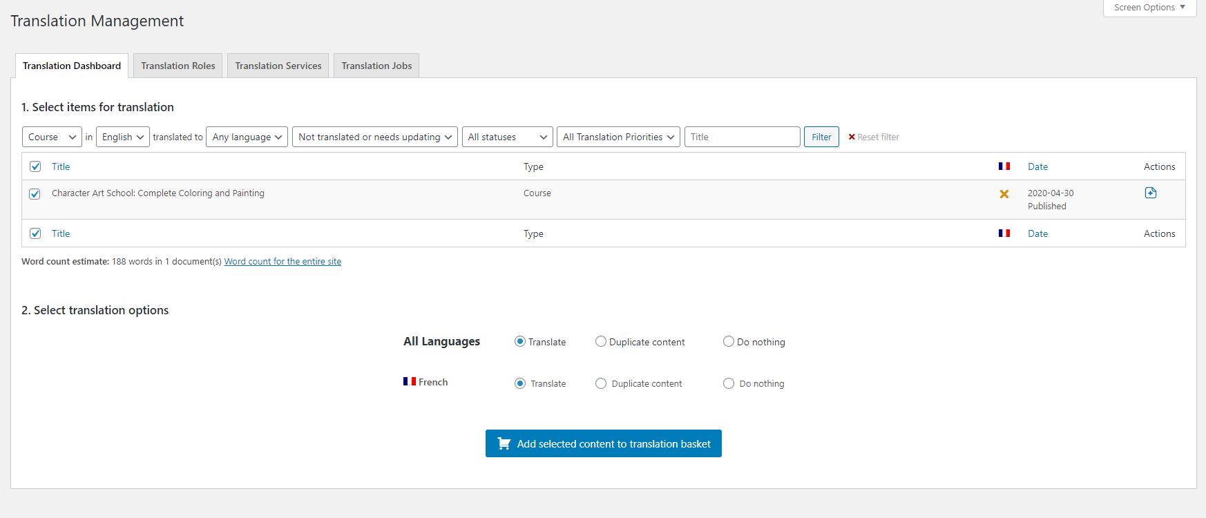 Multilingual eLearning
