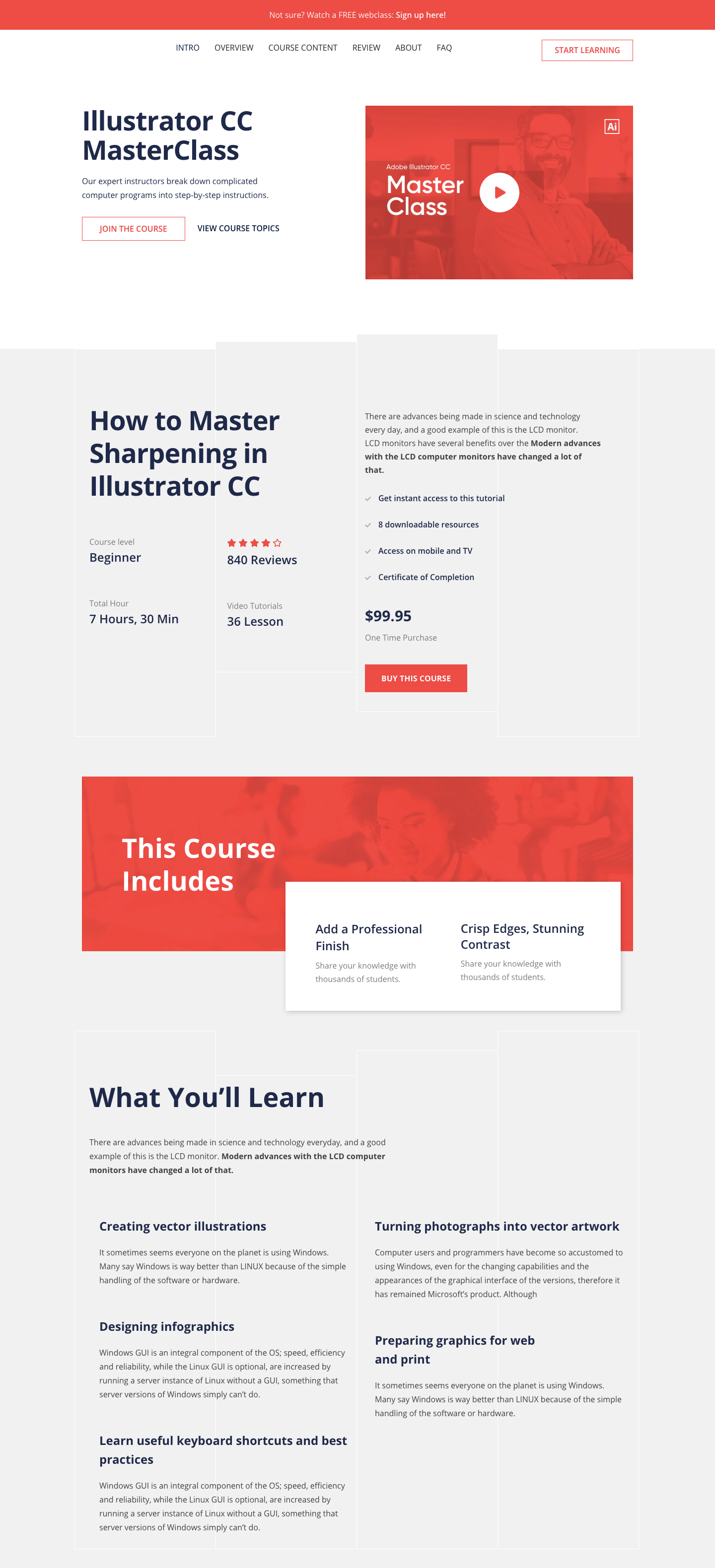 themeum skillate single course page for instructors