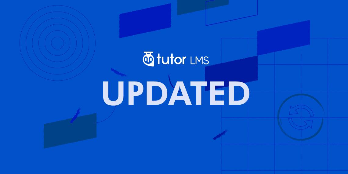 Tutor LMS 1.6.4