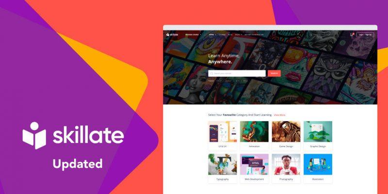 skillate update expert homepage v1.0.4