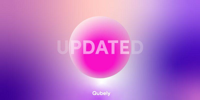 Qubely update global settings