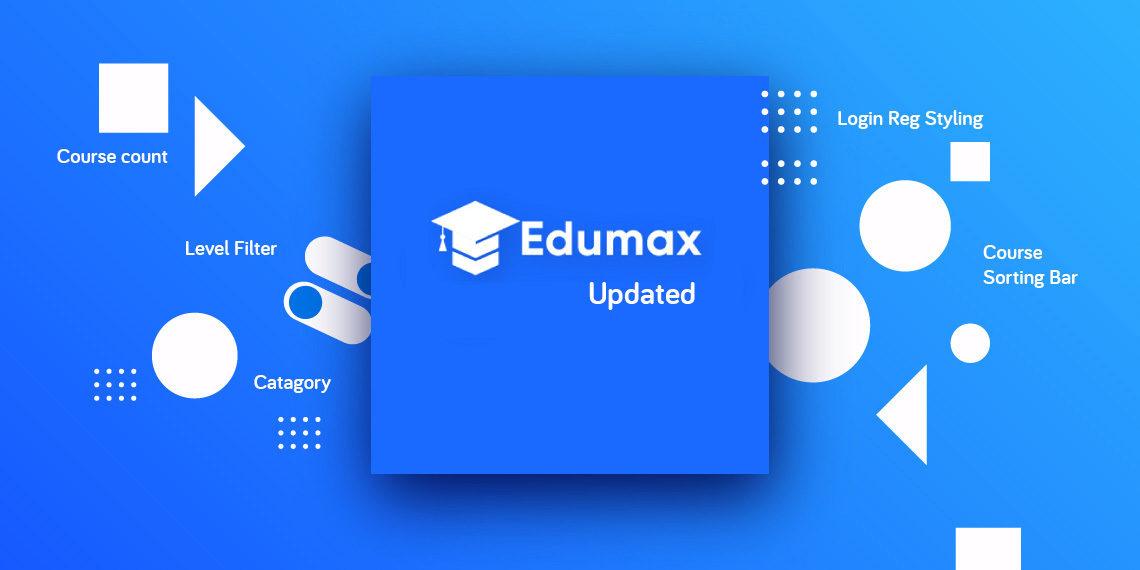 Edumax LMS theme updated to v2.0.5