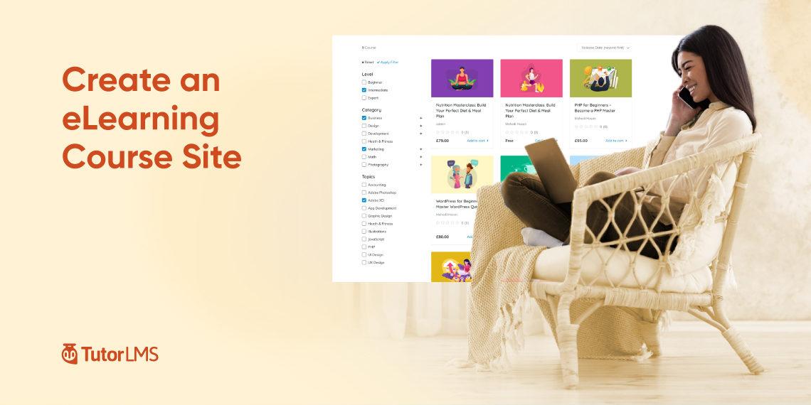 Create eLearning Site