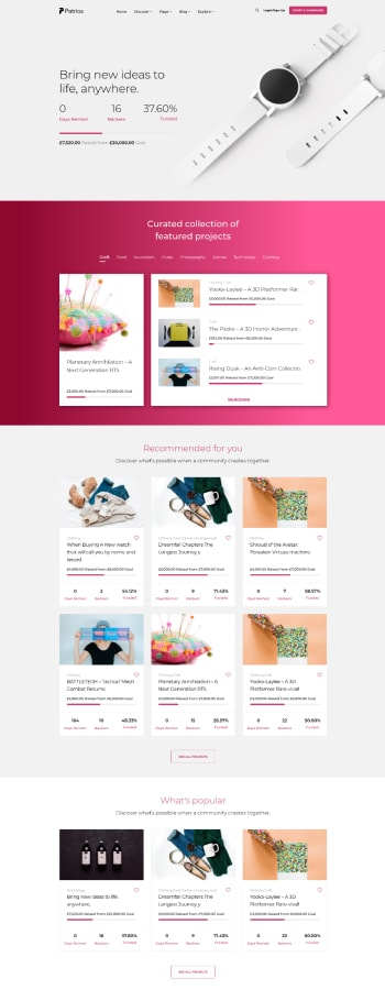 Skillate WordPress Theme