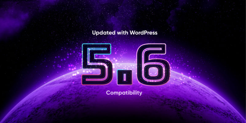 all themeum plugins & themes got updated with WordPress 5.6 compatibility