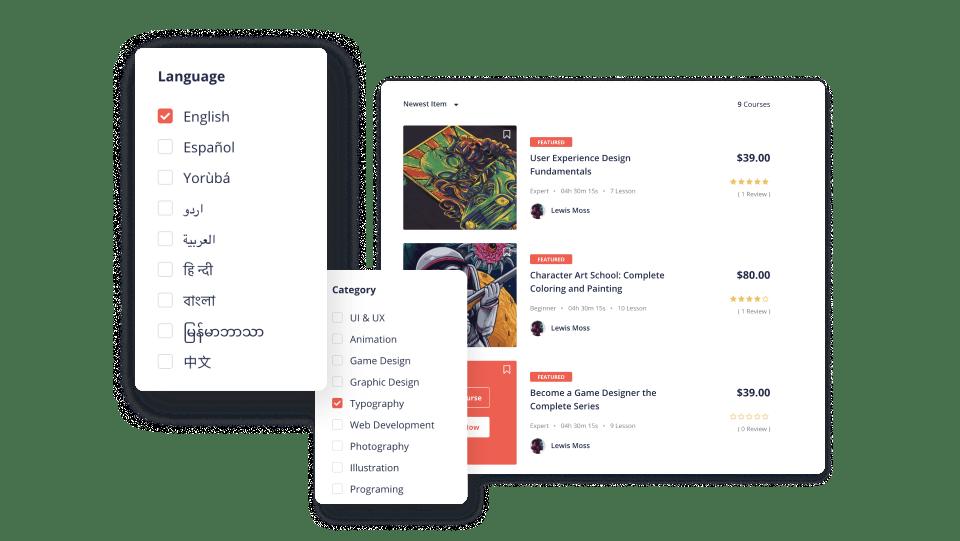 Language Filters