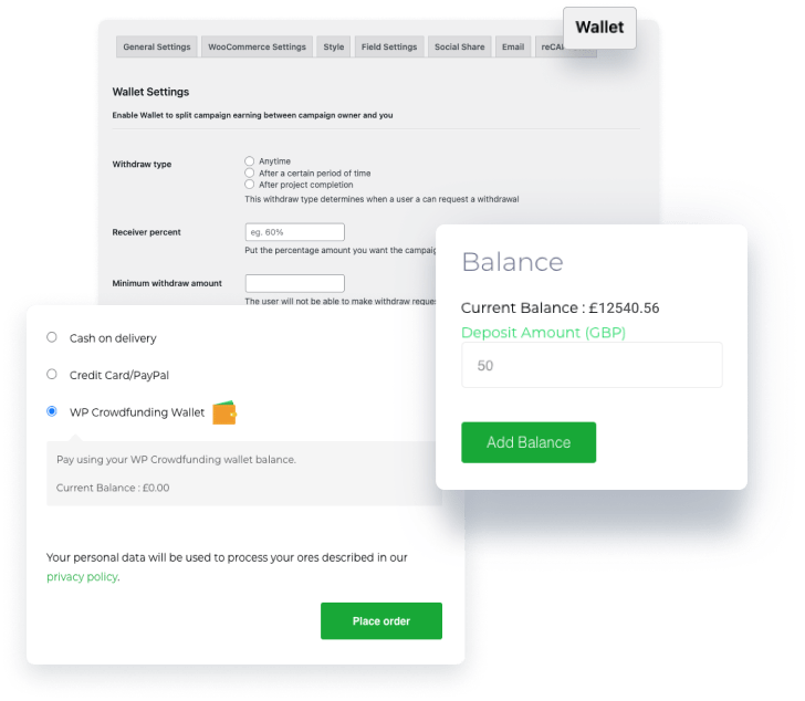 Native Wallet System